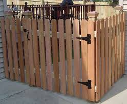 Dog Eared Picket Fence Sp Fence