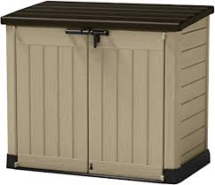 max outdoor plastic garden storage shed