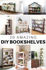 diy bookshelf plans and ideas