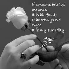 quotes about love betrayal