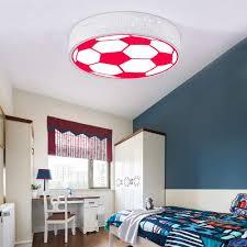 Amazon Com Led Children S Room Ceiling Lamp Basketball Pattern Plastic Metal Modern Design Girl Boy Bedroom Ceiling Light Kids House Decoration Lamp 3 Color Temperature Change Light Energy Class A Home
