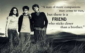 famous harry potter quotes about friendship family and love