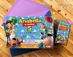Toy Story Invitation Toy Story Toy Story Birthday Party Toy