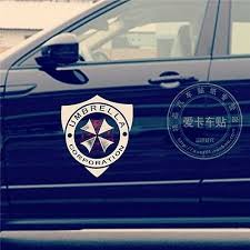 Resident Evil Zombie Umbrella Corporation Car Door Stickers Decal 3m Reflective Car Truck Graphics Decals Auto Parts And Vehicles Tamerindsa Com Ar