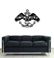 Us Navy With Eagle And Anchor Military Vinyl Wall Decal Sticker Graphic Redbarndecals Com