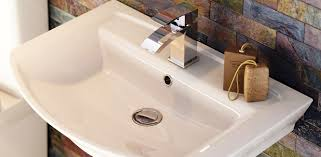 fixing a slow draining basin step by