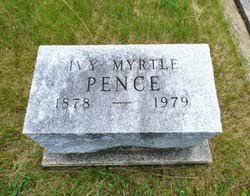 Ivy Myrtle Ryan Pence (1878-1979) - Find A Grave Memorial