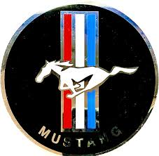 Amazon Com Global Stickerz Amazing Vintage Decal Car Sticker For Classic Ford Mustang All Aluminum 3 5 Aluminum Unlike Other Car Decals That Fall Off Or Wear And Tear These Are Heavy