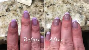 remove hair dye from a gel manicure