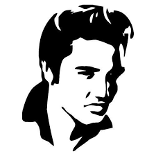 Diy Young Elvis Vinyl Decal Music Lover Elvis Fan Decal Etsy In 2020 Elvis Tattoo Silhouette Stencil Silhouette Art