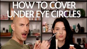 how to cover under eye circles
