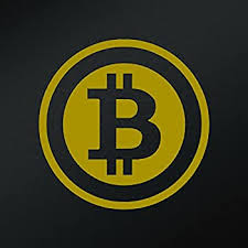 Amazon Com Bitcoin Vinyl Decal Sticker Cars Trucks Vans Walls Laptops Cups Gold 5 Inches Kcd1311g Computers Accessories