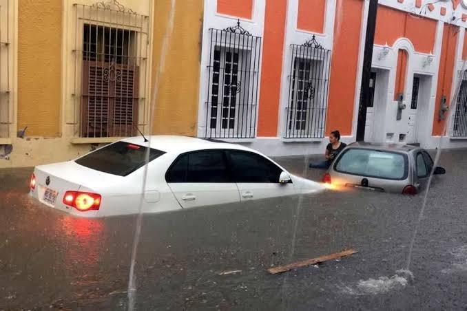 """Resultado de imagen de inundaciones mazatlan centro historico"""""""