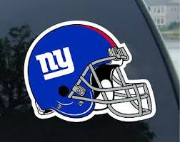 Ny Giants Decals Etsy