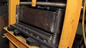 diy press brake to use in a press