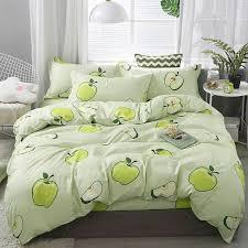 2020 fresh green apples bedding sets