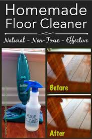 homemade floor cleaner that doubles