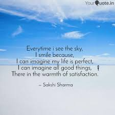 everytime i see the sky quotes writings by sakshi sharma