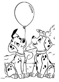 Kids N Fun Kleurplaat 101 Dalmatiers 101 Dalmatiers