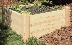marleywood cedar raised garden bed kit