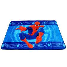 Shop Marvel Spiderman Multicolor Non Slip Polyester Kids Area Rug 4 6 X 6 8 Overstock 17656185