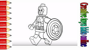 how to drawing lego - spider man