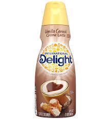 vanilla cannoli crème latte
