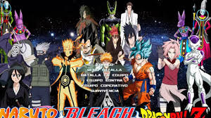 mugen screenpack bleach vs naruto vs dbz en pogreso - YouTube