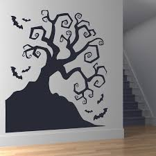 Creepy Twisted Spook Wall Stickers For Living Room Holiday Wallpaper Decoration Vinyl Wall Decals Windows Art Sticker L576 Wall Stickers Aliexpress