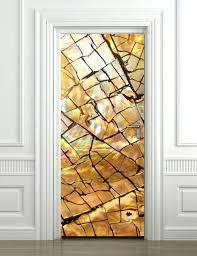 Gold Texture Wall Decal Door Sticker Door Mural Door Etsy