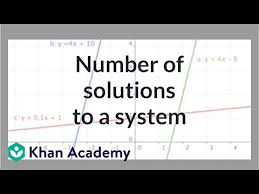 solutions to a system of equations
