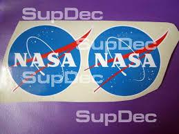Product Nasa Vinyl Decal Sticker