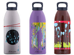 100 recycled aluminum water bottles