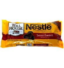 semi sweet chocolate morsels