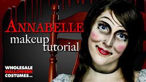 annabelle makeup tutorial whole