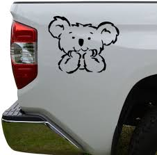 Amazon Com Rosie Decals Cute Koala Bear Die Cut Vinyl Decal Sticker For Car Truck Motorcycle Window Bumper Wall Decor Size 8 Inch 20 Cm Wide Color Matte White Home Kitchen