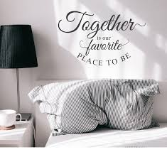 Vinyl Wall Decal Family Motivational Favorite Place To Be Quote Sticke Wallstickers4you