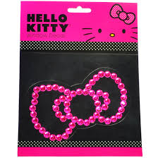 Hello Kitty Car Accessories Hello Kitty Car Decal Pink Bow Walmart Com Walmart Com