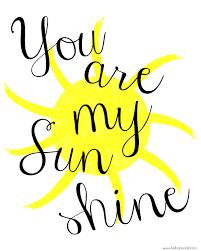 Image result for my sunshine