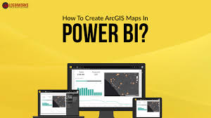 how to create arcgis maps in power bi