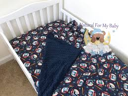 train thomas trucks toddler bedding set