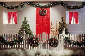 Christmas Decoration 5 Ideas For A Beautiful Picket Fence