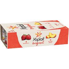strawberry yogurt nutrition label