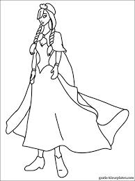 Kleurplaten Van Prinses Anna Gratis Kleurplaten