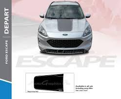 2020 Ford Escape Hood Decal Depart Hood Vinyl Graphic Stripes Kit