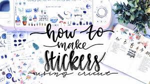 How I Make My Stickers Using Cricut And Procreate Youtube