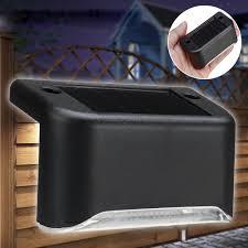 Solar Powered Led Light Outdoor Garden Security Wall Light Fence Post Lamp Sale Banggood Com
