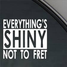 Everything Shiny Firefly Serenity Decal Car Sticker