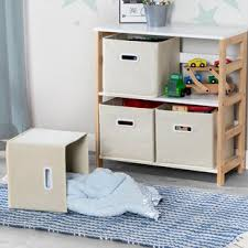 Playroom Storage Wall Unit Wayfair