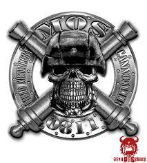 Usmc 0811 Field Artillery Cannoneer Mos Decal Marine Corps Items